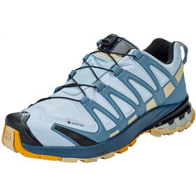 Salomon XA Pro 3D v8 GTX Schoenen Dames, kentucky blue/dark denim/pale khaki